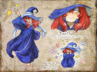 OC Page - Timothy by TomoeOtohime