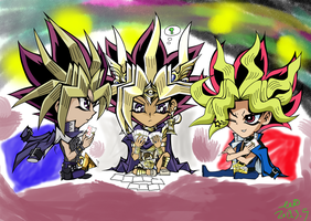 Who will win the poker card game!?(colored) by WDSlyugi