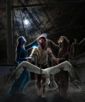 The Rime Of The Ancient Mariner v2 by 2HeadedMonster