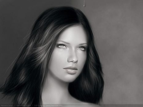 Adriana Lima by 3dPower