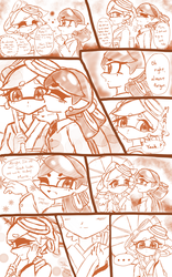 Squid Sisters comic :Have a Great Day: by kiraradaisuki