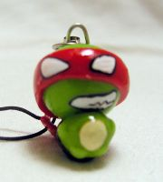 Raphael Cell Phone Charm by cleody