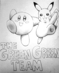 The Green Green Team by 2gredvisions