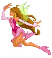 Flora of Winx Club by animatorsc