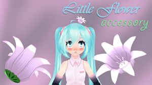 Bell Flower Accessory + DL by Kirakux