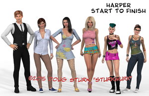 Harper Kelly Lineup 2015 by sturkwurk