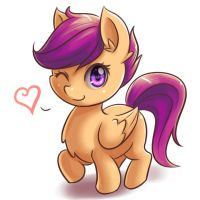 Scootaluv by NinjaHam