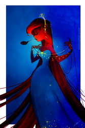 The Starlit Queen by MarionetteDolly