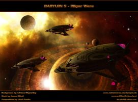 BABYLON 5 - DILGAR WARS - Finale Battle by ulimann644