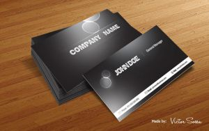 Business Cards Mockup Free PSD by victorsosea
