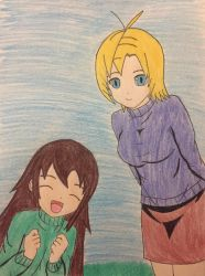 Mother and Daughter by SuperiorArmanhammer