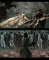 Game of Thrones Studies 1 by BakaHoshi