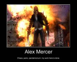 Alex Mercer :1: by GothicAlchemist7X