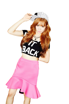Tiffany Holler PNG 02 [RENDER] by RylYoonYulSic