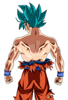 GOKU THE STRONGEST Dragon ball super palette 2 by AL3X796