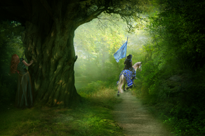 Fleeing by EnchantedHawke