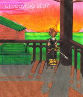 ++Sora: Sunset Station++ by Cobyfrog