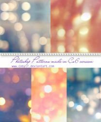 Blurred Lights Photoshop patterns by Coby17