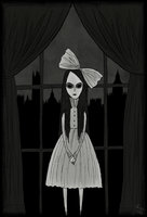That little girl in flat 4D by Maria-Mysteria