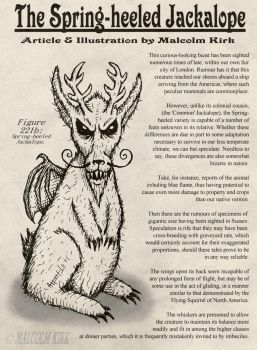 The Spring-heeled Jackalope by MalcolmKirk