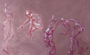 Life Drawing March 2014 by Gizmoatwork