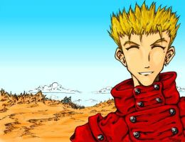 For Dwellin - Vash by MillyT