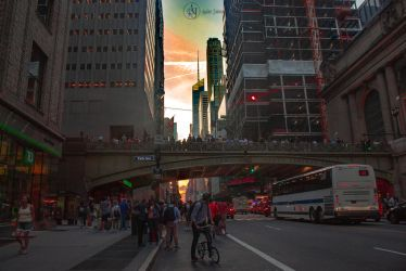 Manhattanhenge by adenisej25