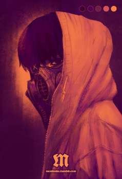 Kaneki in Palette #8 by Montenko
