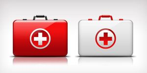 First-Aid Medical Kit Icon (PSD) by softarea