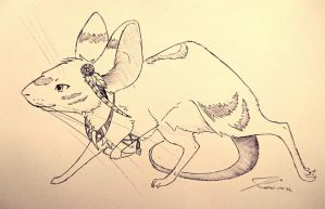 Warrior mouse by MaKeem