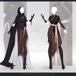 (CLOSED) Adoptable Outfit Auction 298-299