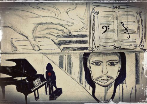 The Piano Artist by RiverGlow