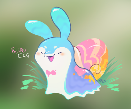 [closed] Spring Pacapillars: Painted Egg by tessary