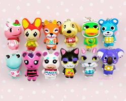 Animal Crossing Charms by Comsical