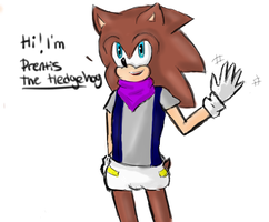 Request : Prentis The Hedgehog by batmanisawesome666