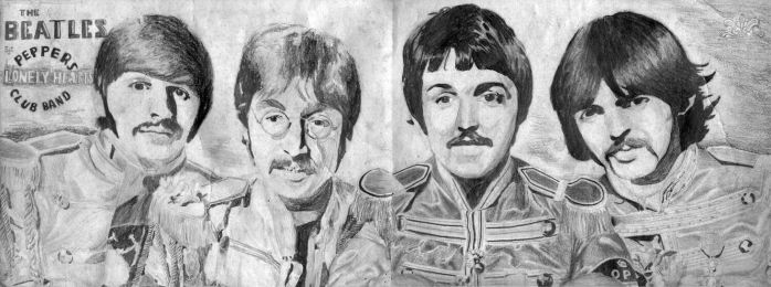 Sgt. Pepper's Lonely Hearts Club Band by XFozzboute