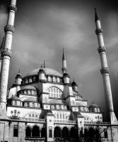 mosque by ZeBiii