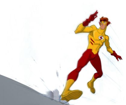 Kid Flash by JJConway