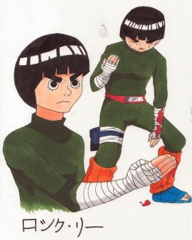 Rock Lee by ReneeTherrien