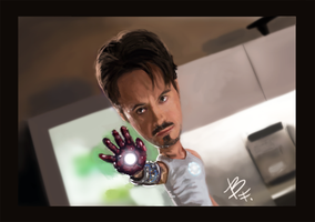 IRON-MAN by BluefireArt