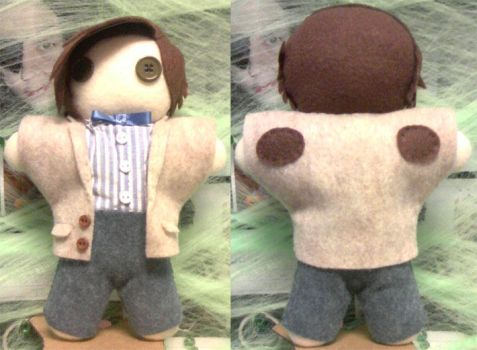 Eleventh Doctor - almost done by PlushieOnTheSun