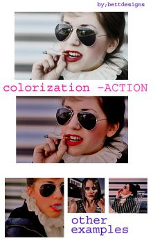 Colorization Action by bettdesigns