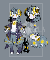 [AUCTION] Adoptable - Noxaries 01 [CLOSED] by almondsoda
