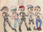 .:Splatoon Fan Characters:. Beyond the Ink by Melomiku