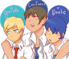 The Boys Are Back by KoiTama