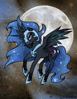 Nightmare Moon by Christinies