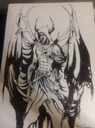 Concept work from the swift blades online comic by RodneyCJacobsen