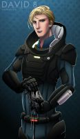 David 8 + Prometheus by xanseviera