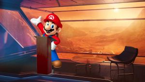 Mario-mars-conference  by MisterBill82