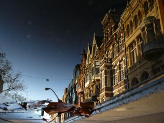 Reflections of Amsterdam 10 by amstersam